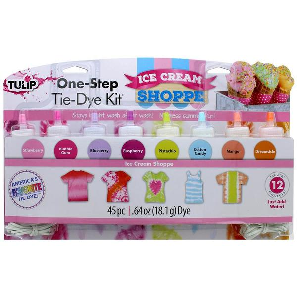 Tulip One Step Tie Dye Kit 8 Color Mini Ice Cream 31057403