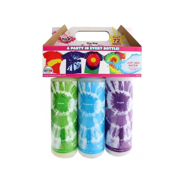 Tulip One Step Tie Dye Kit 6 Color 16oz Party Kit 31057405