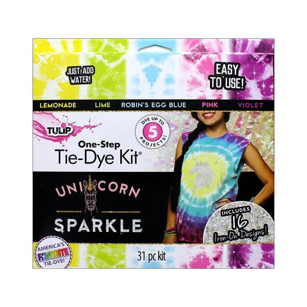 Tulip One Step Tie Dye Kit 5 Color Mini Unicorn 31057406
