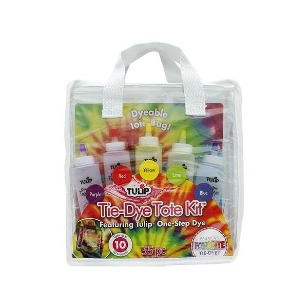 Tulip One Step Tie Dye Kit 5 Color Mini Tote Bag 31057407