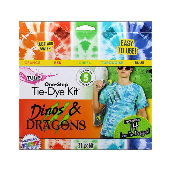 Tulip One Step Tie Dye Kit 5 Color Mini Dino&Dragn 31057408