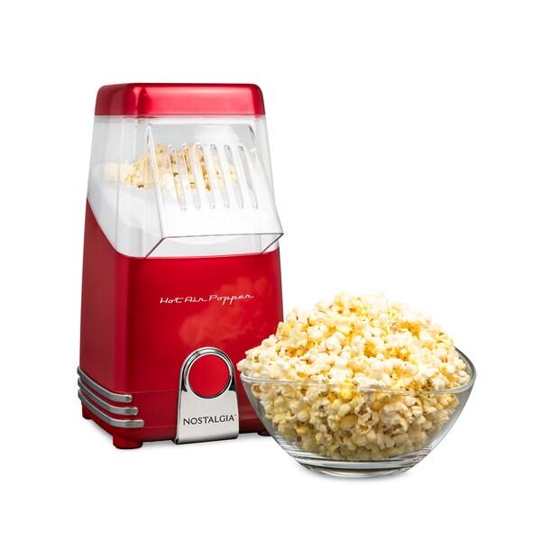 Nostalgia HAP8RR Hot Air Popcorn Maker 31059839