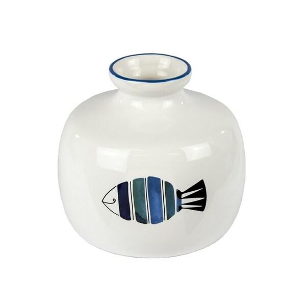 Fashionable Ceramic Vase With Fish Pattern 31070682