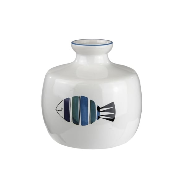 Fabulous Ceramic Vase With Fish Pattern 31070683