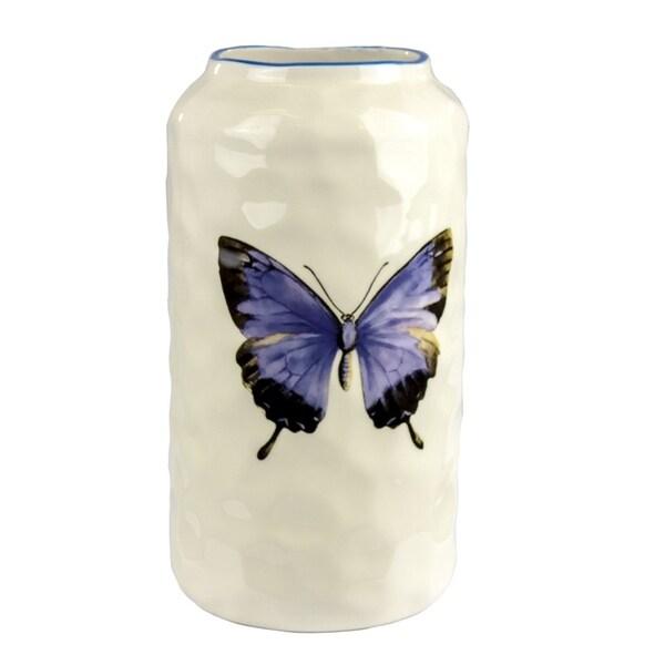 Refreshing Ceramic Butterfly Vase 31070691