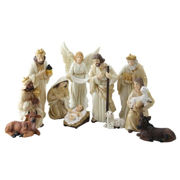 Christmas Nativity Figure Set with Accents 31073708