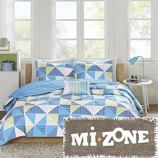 Mi Zone Jackie Blue Coverlet Set