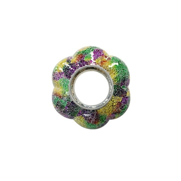 Multi-Colored Mosaic Hanging Bird Feeder - Tray Pack of 4 31097885