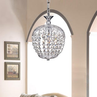 Silver Orchid Grifith Chrome Crystal Chandelier