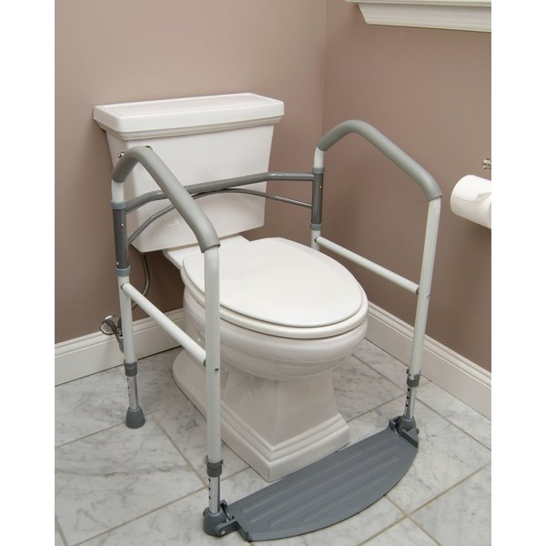 Windsor Direct Free Standing Foldeasy Portable Toilet Safety Frame 31117601