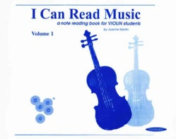 I Can Read Music: A Note Reading Book for Violin Students (Paperback)