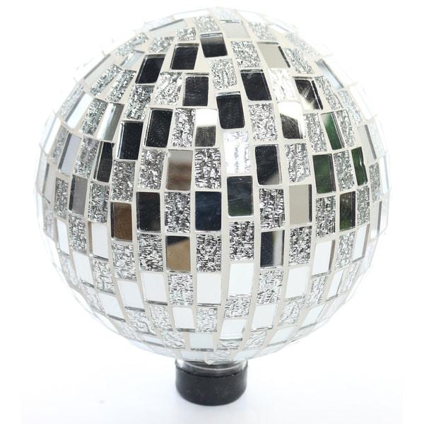Mosaic Silver Gazing Ball 31136823