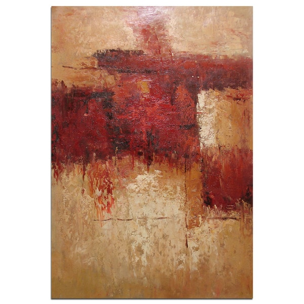 Red' Gallery-wrapped Original Oil Painting 31137771