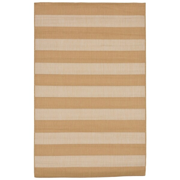 Broad Stripe Outdoor Rug (3'3 x 4'11) - 3'3 x 4'11 31138107