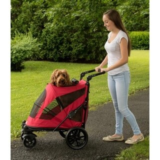 Pet Gear Excursion No-Zip Pet Stroller