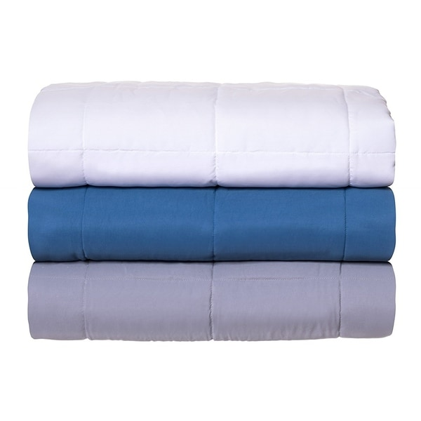 Brookstone Temperature Regulating Outlast Microfiber Blanket