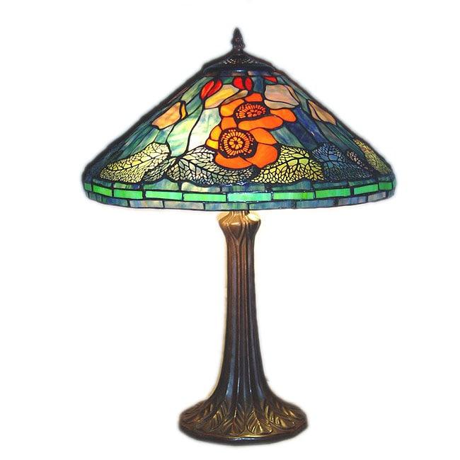 chloe tiffany style victorian design 2 light table lamp. Black Bedroom Furniture Sets. Home Design Ideas