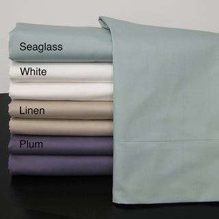 Egyptian Cotton Sateen 600 Thread Count Sheet Set