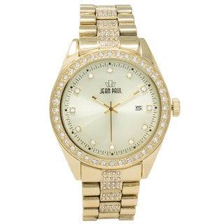 Dakota Jean Paul Oversize 52mm Big Bling Jeweled Watch