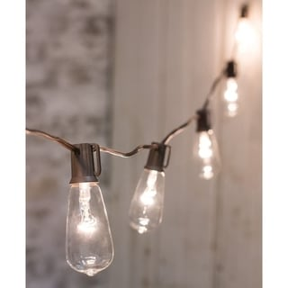 Clear Edison String Lights