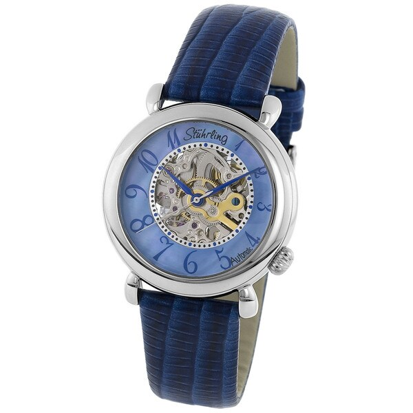 Stuhrling Original Lady Wall Street Skeleton Watch