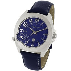 Stuhrling Original 'Piattino di Volo' Dual Time Watch