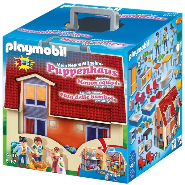 Playmobil Take Along Modern Doll House 5167 31242810