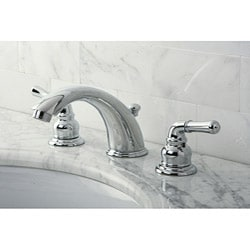 Stylish Chrome Widespread Bathroom Faucet