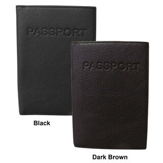 Amerileather Leather Passport Holder