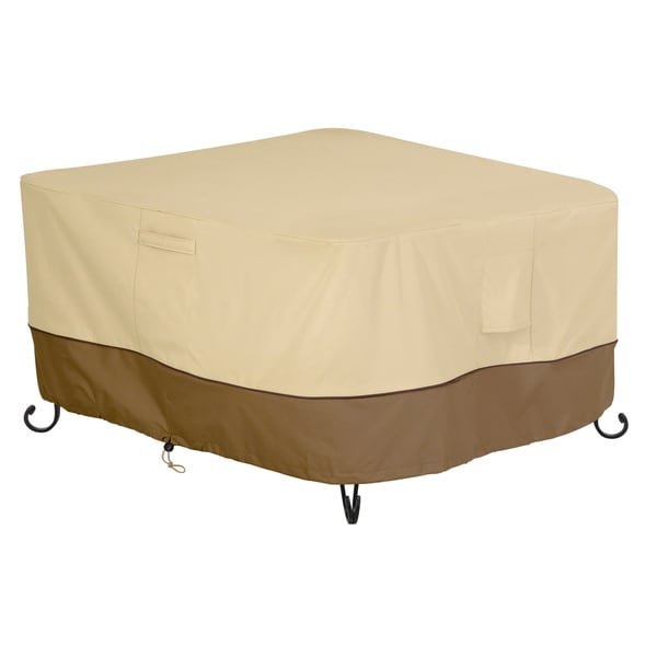 "Classic Accessories Veranda 42"" Square Fire Pit Table Cover 31248780"