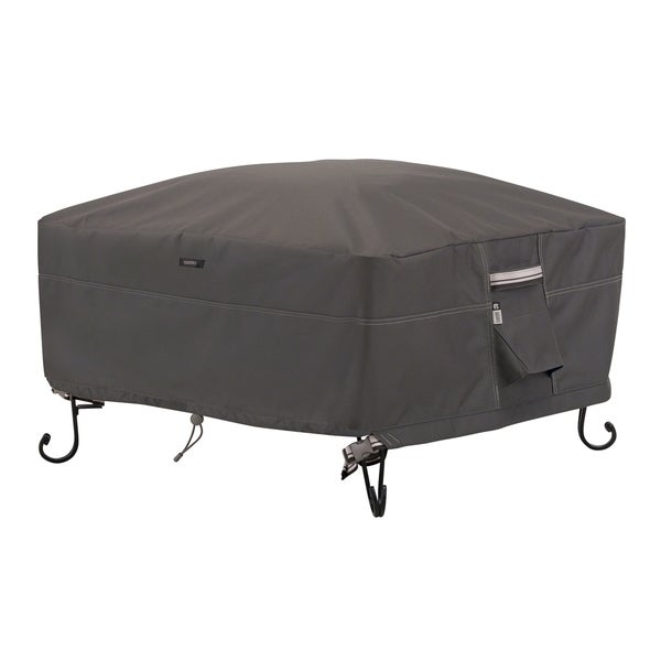 Classic Accessories Ravenna Full Coverage Square Fire Pit Cover 31248784