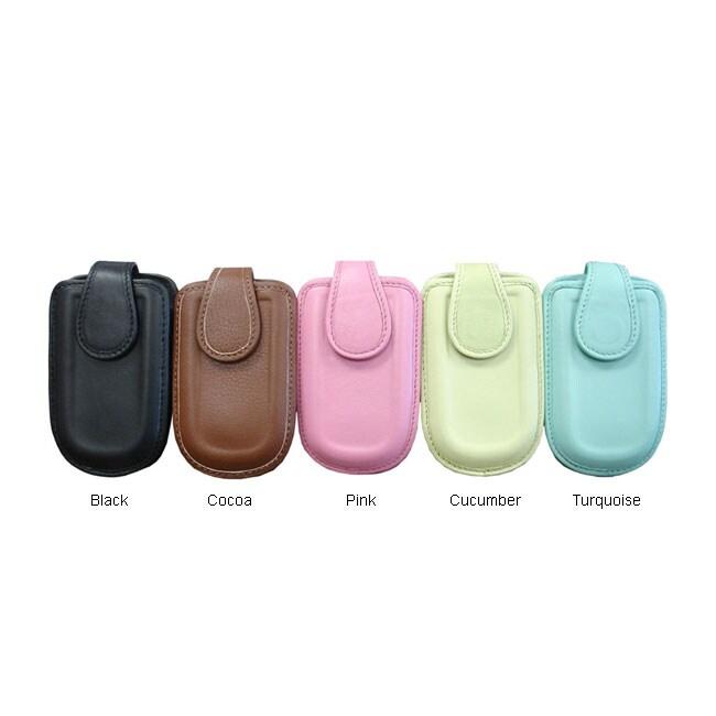 Amerileather Luscious Leather Medium Cell Phone Holder