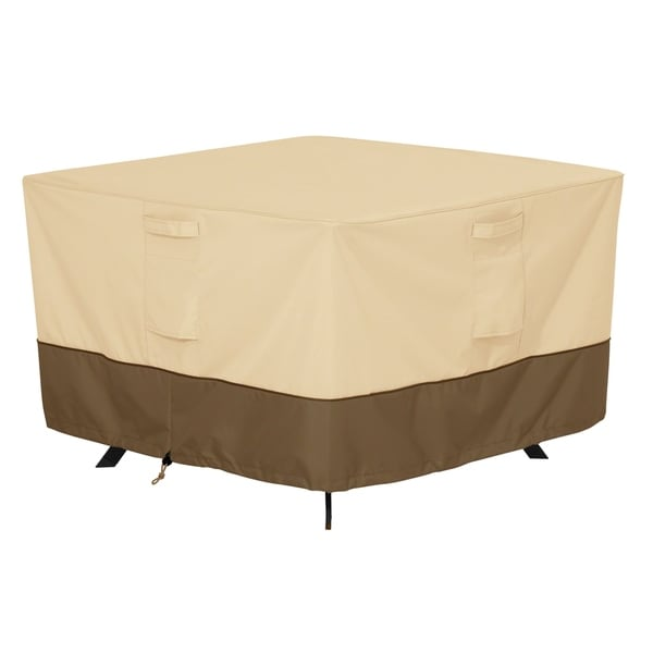 Classic Accessories Veranda Square Patio Table Cover, Large 31248841