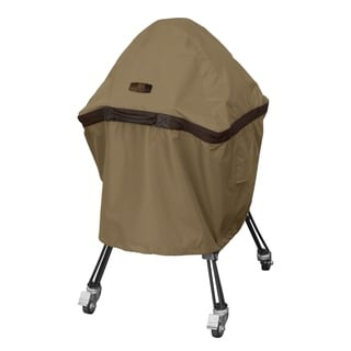 Classic Accessories Hickory Water-Resistant 22 Inch Kamado Ceramic BBQ Grill Cover