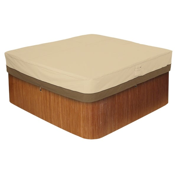 Classic Accessories Veranda Square Hot Tub Cover, Medium 31248879