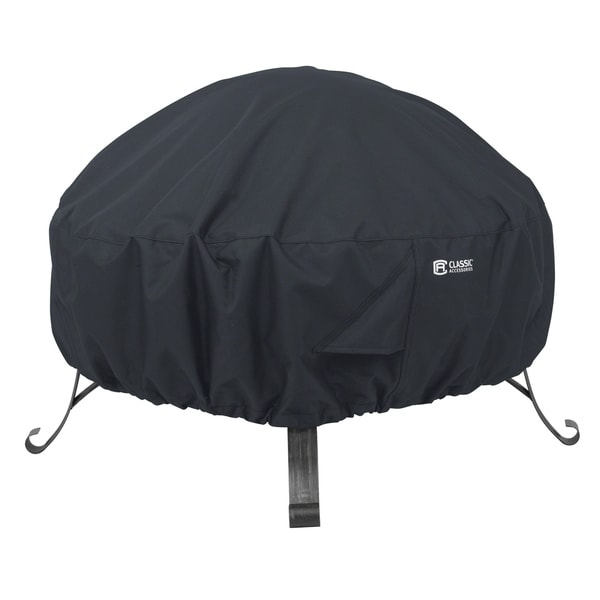 Classic Accessories Full Coverage Round Fire Pit Cover, Large 31248992