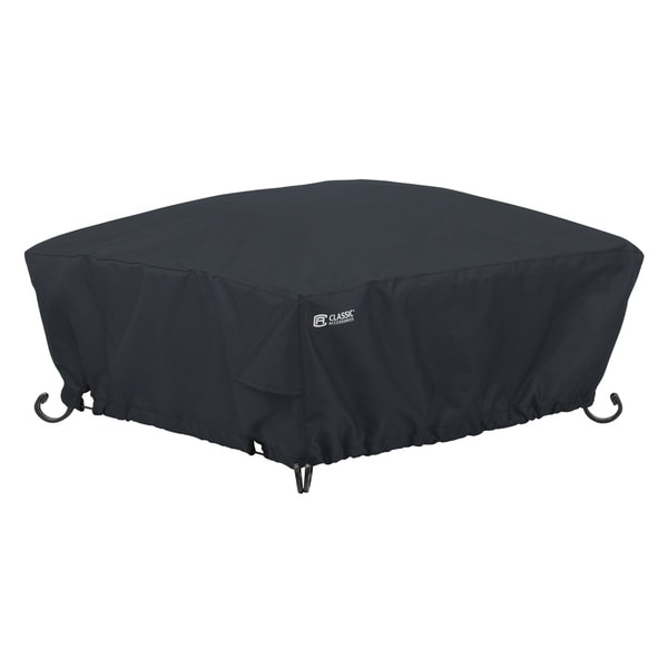 Classic Accessories Full Coverage Square Fire Pit Cover, Large 31248993