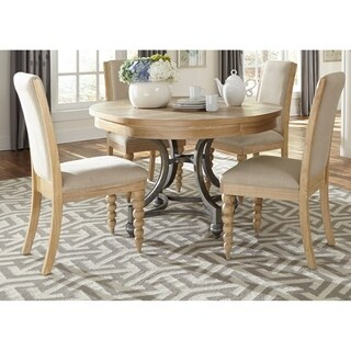 Harbor View Sand Opt 5-piece Round Table Set