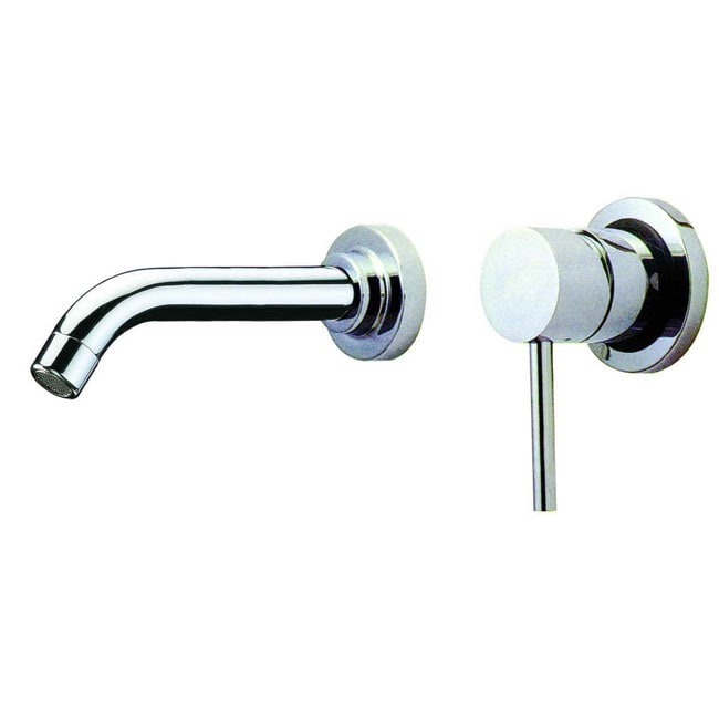 VIGO Olus Chrome Finish Single Lever Wall Mount Faucet