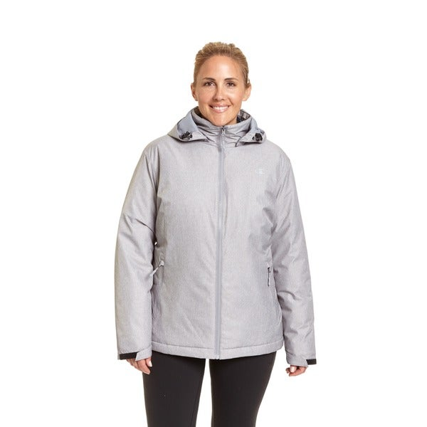 Champion Women's Plus 3-in-1 systems jacket 2X Large Size in Black (As Is Item) 31297861