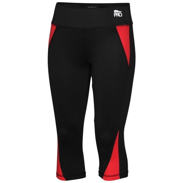 Crivit Pro TopCool Women's Activewear Leggings Black Coral 31310858