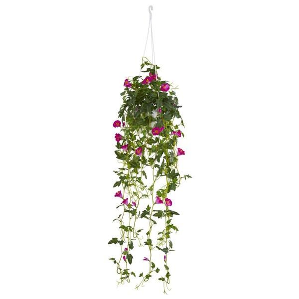 "30"" Petunia Hanging Basket Artificial Plant 31348996"