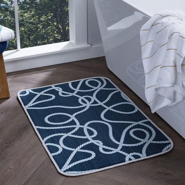 "Alise Lexi Home Transitional Non-Slip Comfort Mat (20""x 30"") - 1'8 x 2'6 31377866"