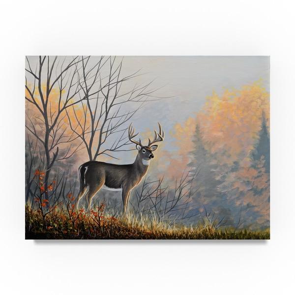 Chuck Black 'Autumn Air' Canvas Art 31393155