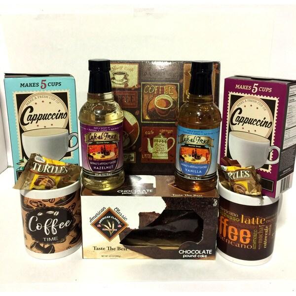 The Coffee Break Gift Basket 31422523