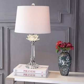 """Day 24.5"""" Crystal LED Table Lamp, Clear by JONATHAN Y"""