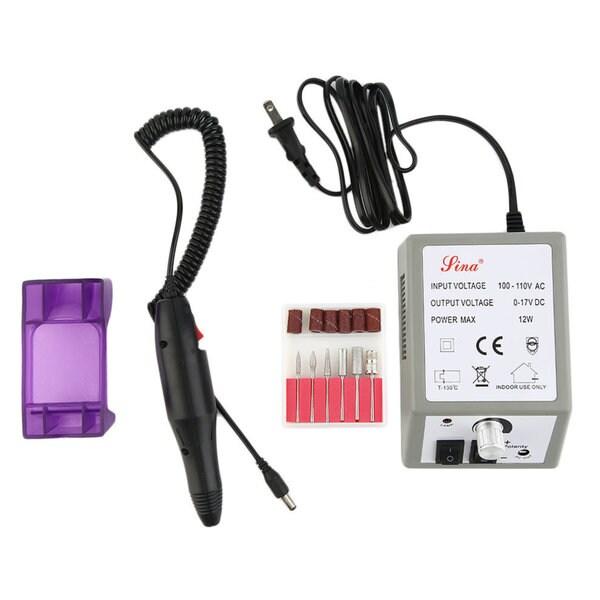 Professional Electric Nail Drill Machine Manicure File Drill Bits Sanding 31471679