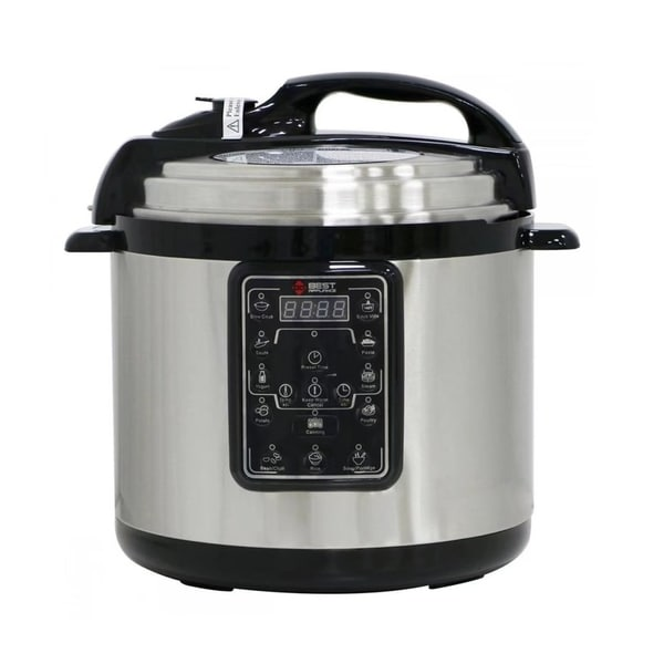 Multifunction 6.3QT Electric Pressure Cooker Stainless Steel 31498785