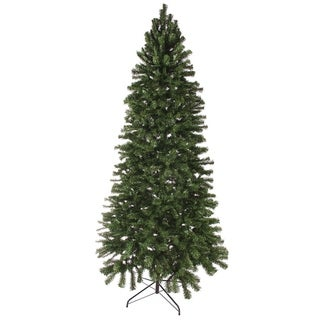 8' Slim Norway Spruce Artificial Unilt Christmas Tree