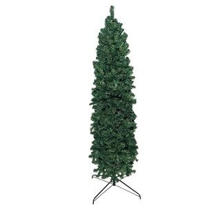 9' Slim Pencil Pine Christmas Tree